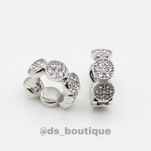b02eaae081f5b Kate Spade Gatsby huggie hoop earrings NWT